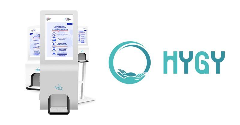 bornes gel hydroalcoolique